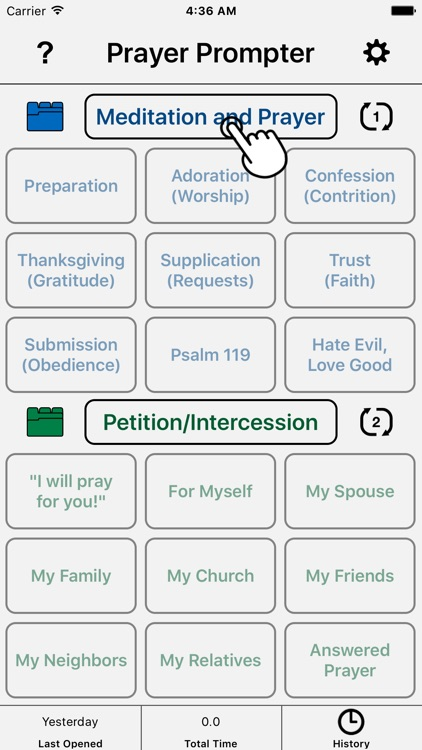 Prayer Prompter - Christian Prayer App