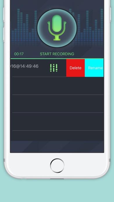 ボイスレコーダーとボイスチェンジャー。ベストボイスレコーダーとボイスチェンジャー効果のスクリーンショット3