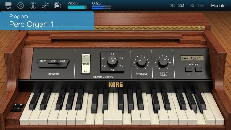 KORG Module Standard for iPhone screenshot-3