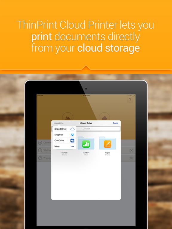 ThinPrint Cloud Printer – Print directly via WiFi / WLAN or