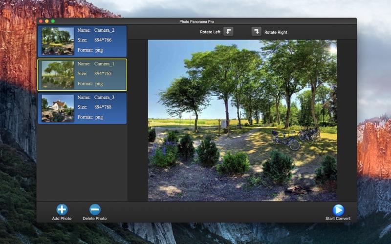 Photo Panorama Lite - Collage скриншот программы 1