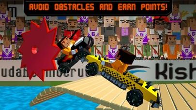 Pixel Car Fighting Arena 3D screenshot three