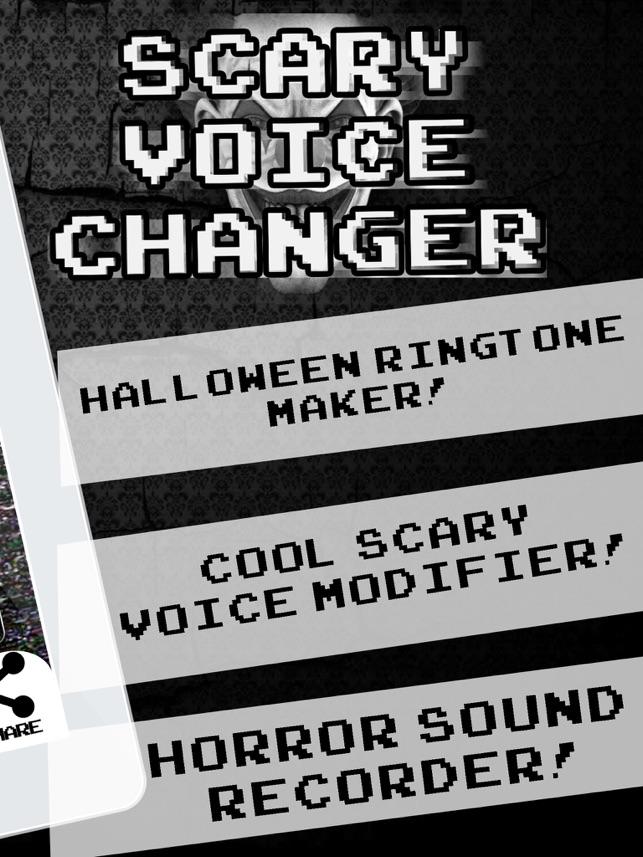 Scary Voice Changer Ringtone Maker – Best Horror Sounds Modifier