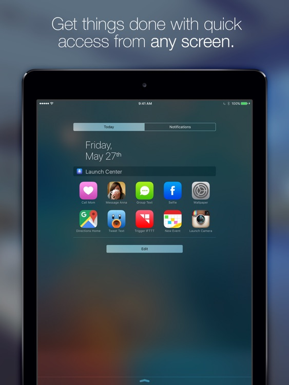 Launch Center Pro for iPad screenshot-2