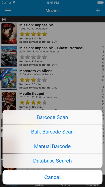 Movie Collector Database Pro screenshot-0