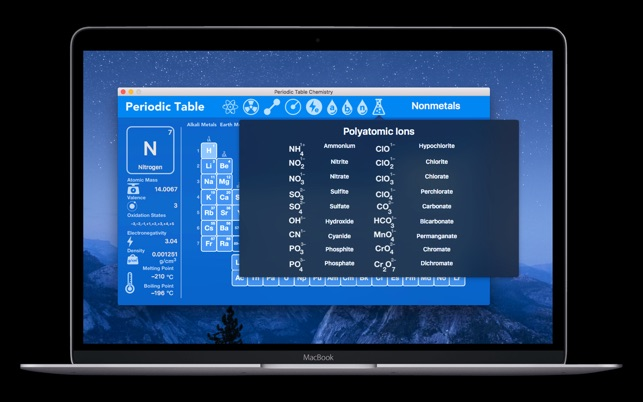 Periodic table chemistry on the mac app store urtaz Images