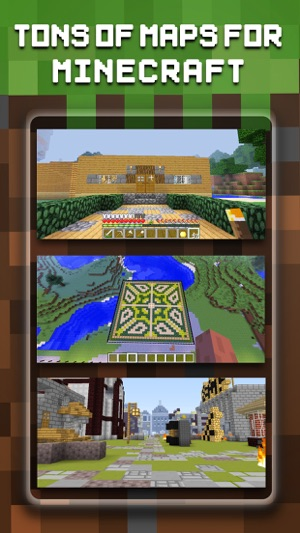 Maps & Mods FREE - Map Seed & Mod for MineCraft PC Edition on the