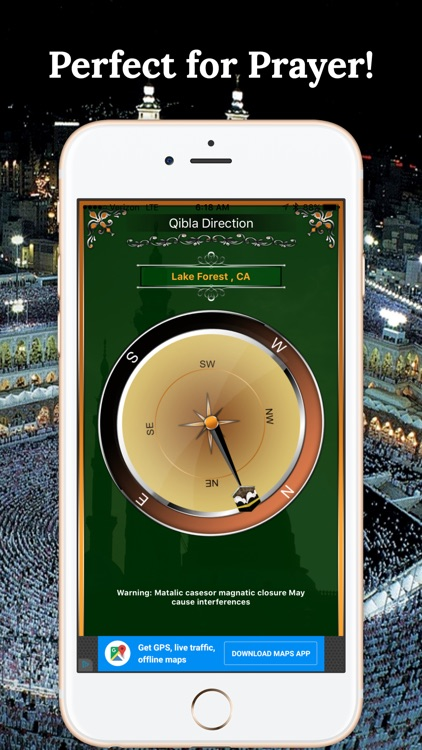 Qibla Compass-Find Direction