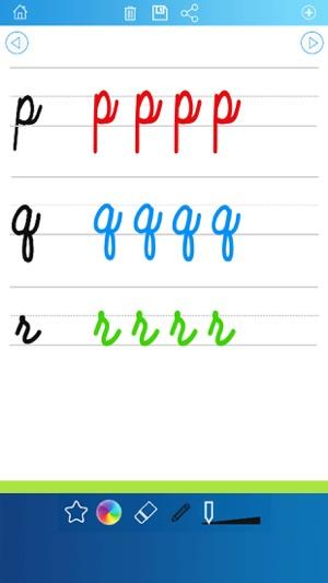 Handschrift Arbeitsblätter abc 123 Lernspiele für Kinder: lernen ...