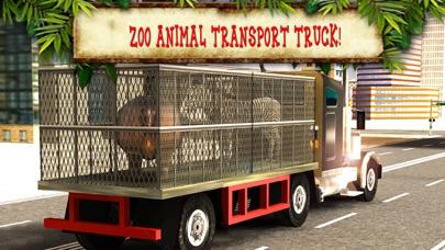 動物園の動物の輸送トラックの運転、駐車場マニアのおすすめ画像2