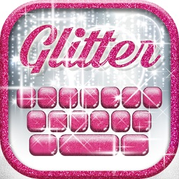 Glitter Keyboard Themes – Shiny Custom Keyboard Design with Glowing Backgrounds and new Emoji.s