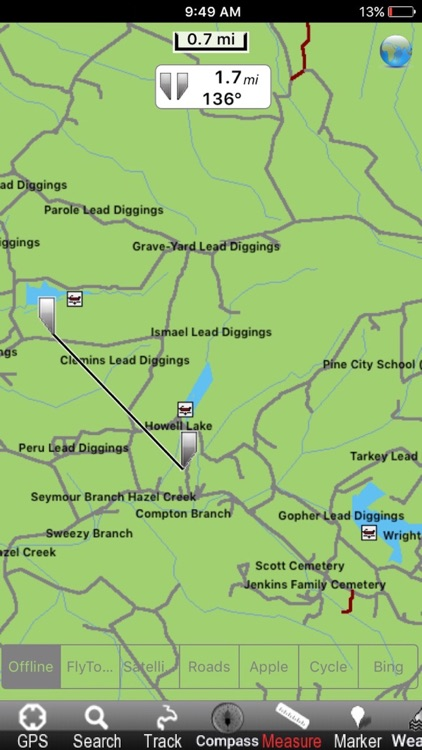 Mark Twain National Forest - GPS Map Navigator
