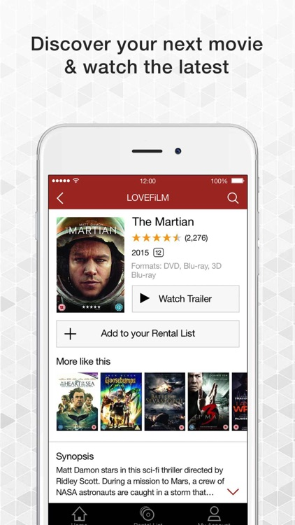 LOVEFiLM By Post UK for iPhone screenshot-3
