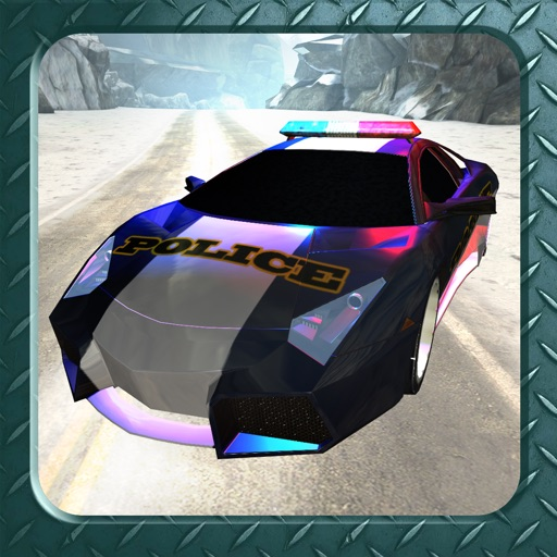 Arctic Police Racer 3D - eXtreme Snow Road Racing Cops FREE Game Version