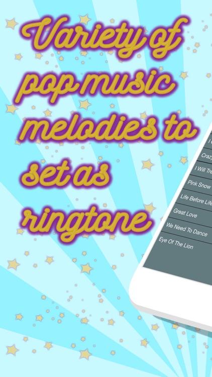 Pop Ringtones – Set Best Free Sounds & Notification Alert.s for iPhone