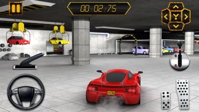 Multi-Level-Sportwagen Parkplatz Simulator 2:Auto-Lack Garage & realistische Fahr SpielScreenshot von 2