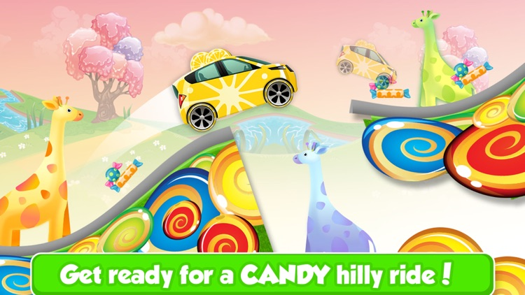Yellow Candy Banana Racing - Crazy Kids Adventure on Hillbilly Candy Land Factory