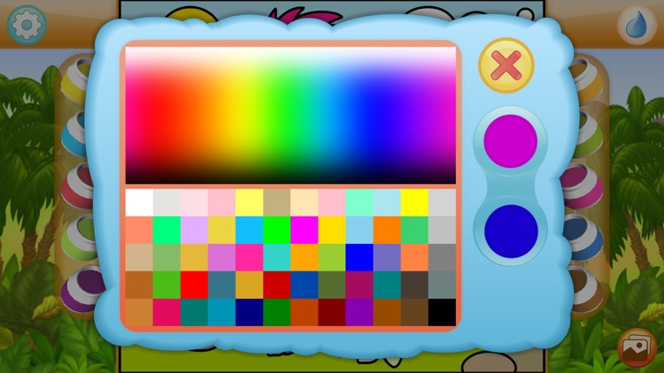 Paint by Numbers - Dinosaurs screenshot-3