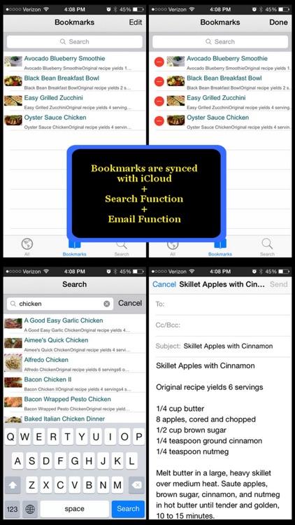 5 Ingredients Recipes screenshot-4