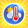 Időjárás előrejelzés - hőmérséklet / páratartalom / légnyomás