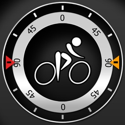 Bike CycloComputer HUD - gps, odometer, altimeter, inclinometer and maps computer for your bike