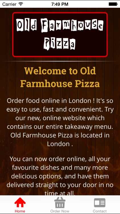 Old Farmhouse Pizza By Touch2success