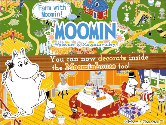 MOOMIN Welcome to Moominvalley на iPad