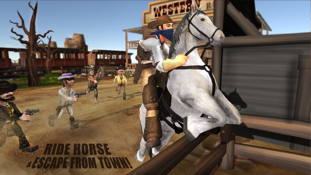 Wild-West Cowboy Real Shooting Game 3D hack tool