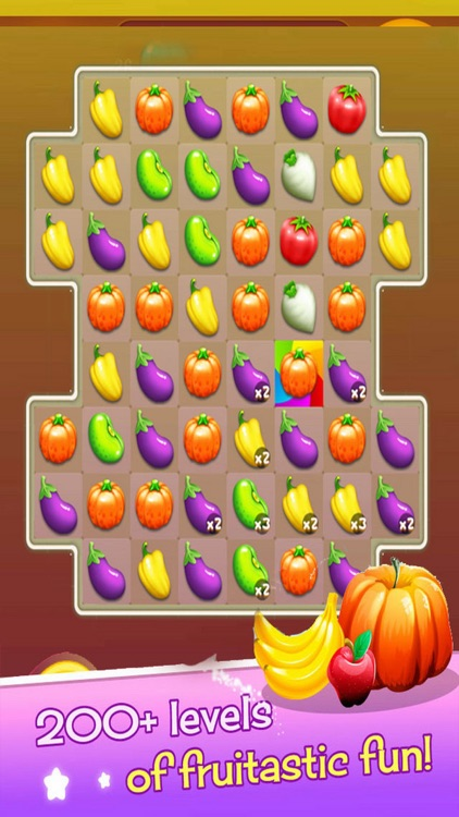 Happy Garden: Fruit Game Combos