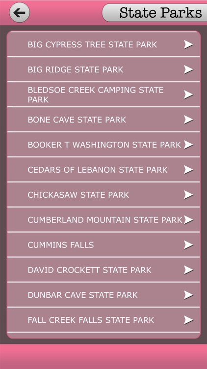 Tennessee - State Parks & National Parks screenshot-3