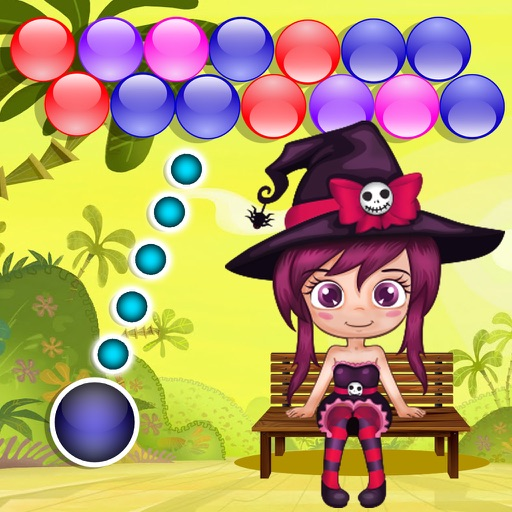 Angel Bubble Shooter Mania. Candy Smash game for kids iOS App