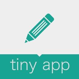 Note | Tiny App - Simple Free memo App