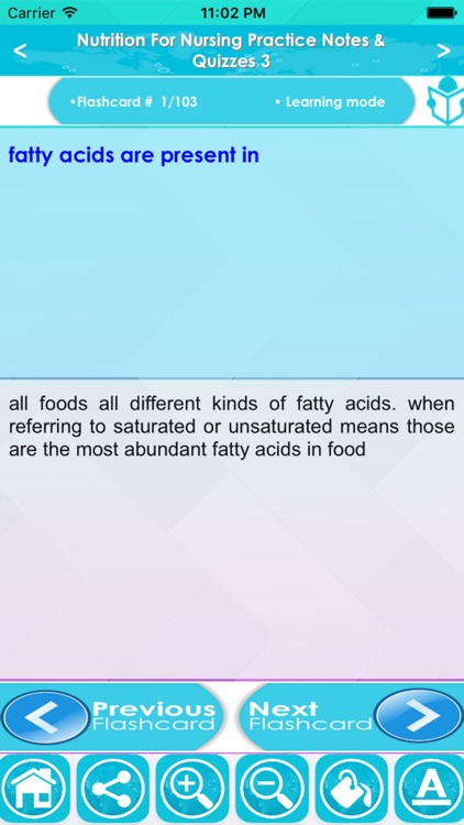 Nutrition For Nursing Practice : 3600 Quiz & Study Notes screenshot-3