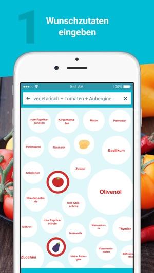 Kochen Und Backen App rezepte essen trinken kochen und backen im app store