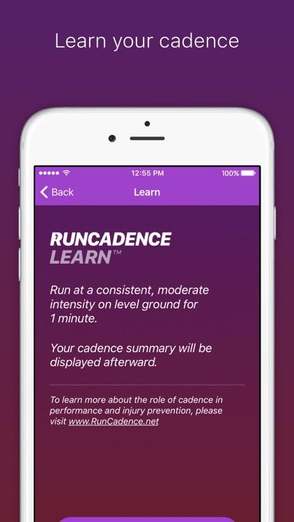 RunCadence Mobile