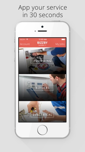BIZZBY – #1 On-Demand Services on the App Store
