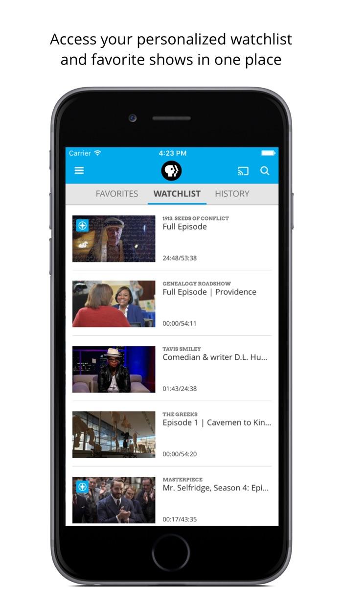 PBS Video Screenshot