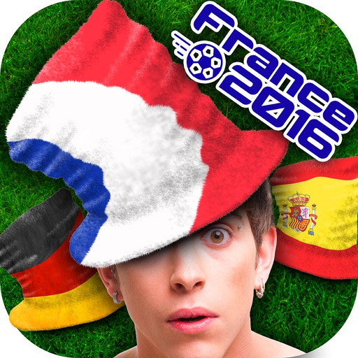Flag Hat Photo Montage for Football Fans – Pics Editor for Euro Cup and the Olympics 2016