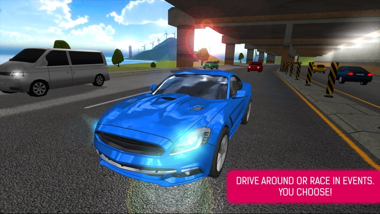 Extreme Car Driving Racing Simulator 2015 Free Game screenshot-4