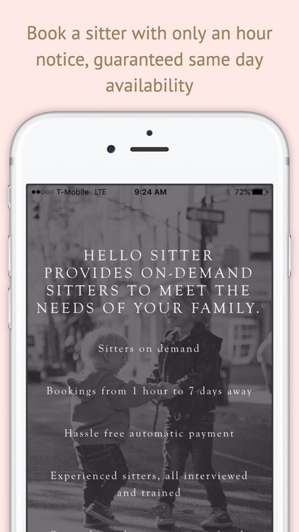 Hello Sitter: Background Checked Babysitters (NYC)