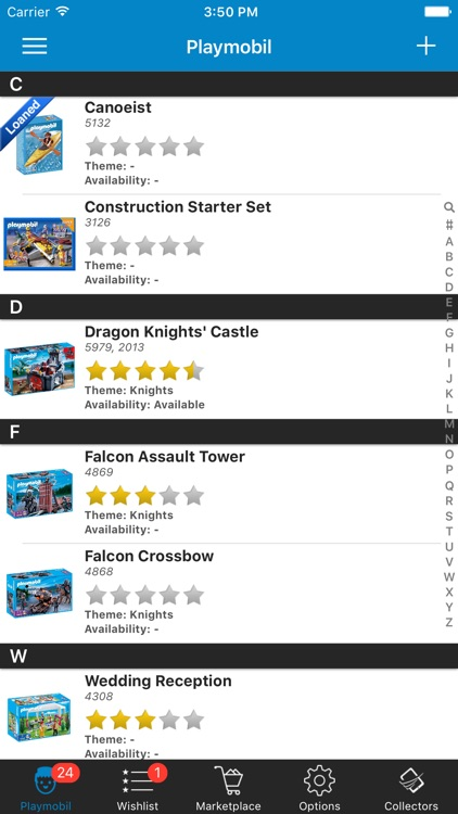Playmobil Database Sets Organize Manage Inventory screenshot-0
