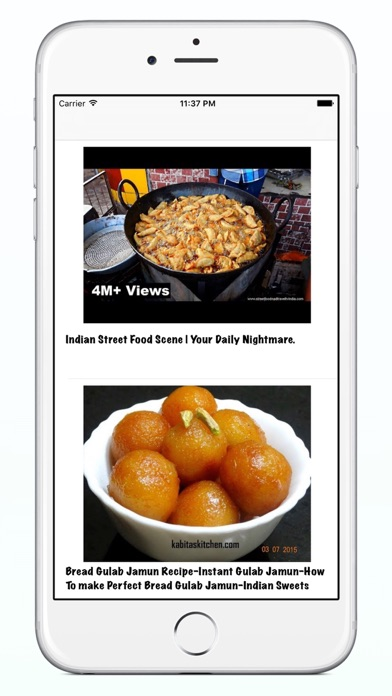 Indian recipes video tutorial app price drops screenshot 2 for indian recipes video tutorial forumfinder Images