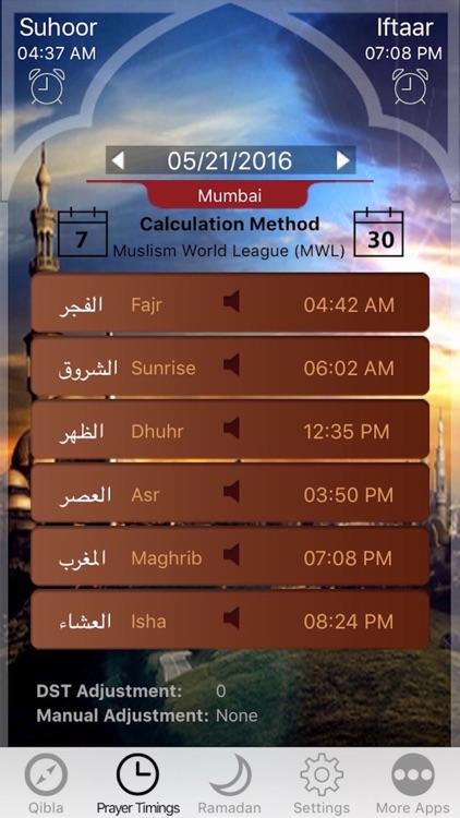 Muslim Prayer Times, Ramadan & Qibla Compass (Pro)