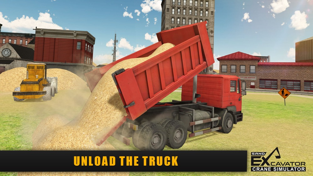 Sand Excavator Crane Simulator 3D – Be a Crane Operator & Drive loader Truck From Quarry To Construction Site Cheat Codes