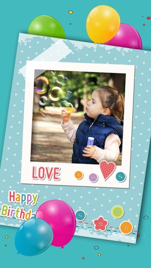 Happy Birthday Photo Frames Create Greeting Cards Collages And Edit Your Images Premium 4