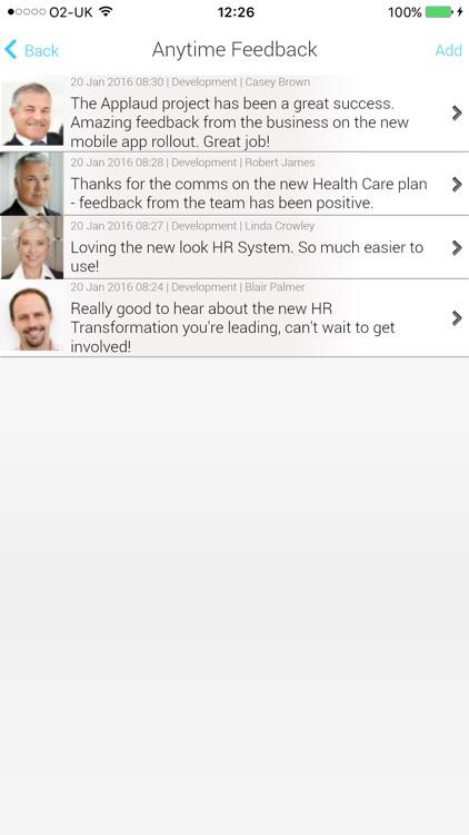 EmployeeCenter for Oracle HR screenshot-4