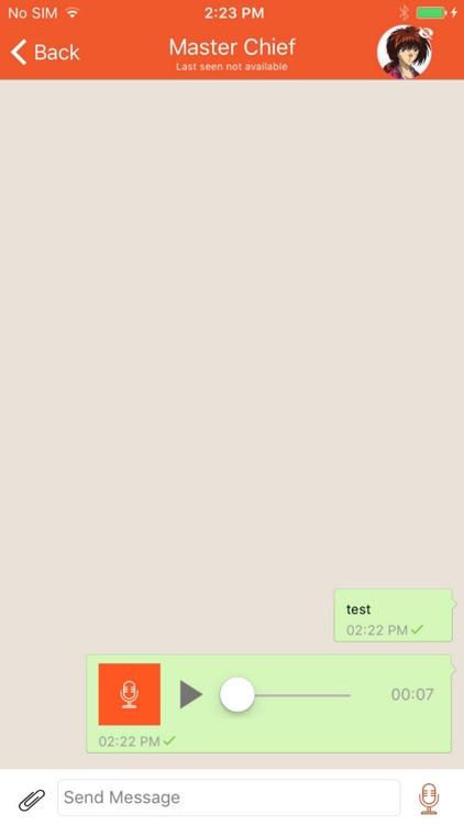 Now Messenger   Real-time screenshot-4