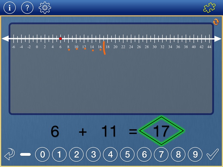 Number Line Math 3-6 screenshot-0