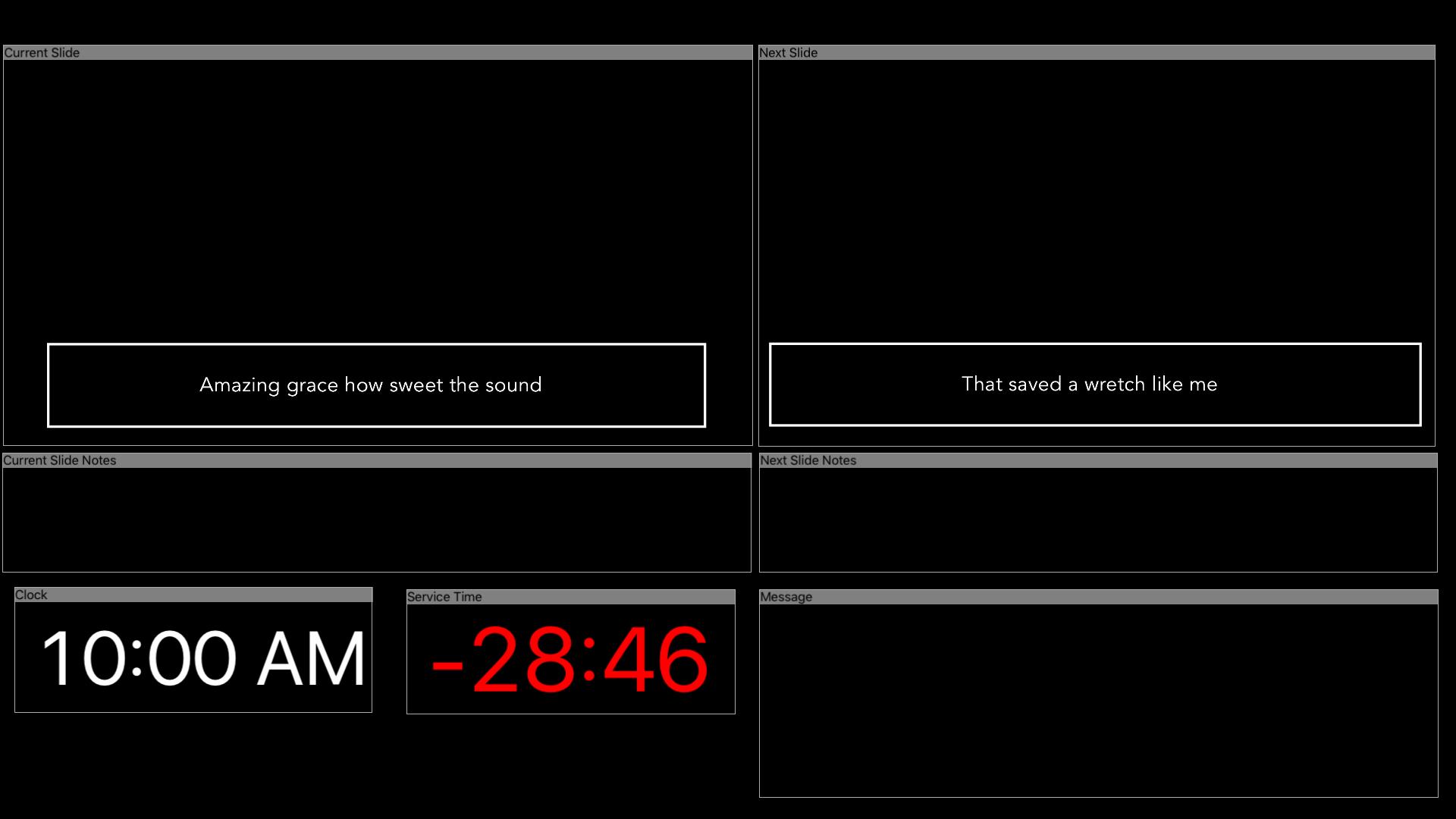 ProPresenter Stage screenshot 15