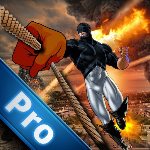 A Superhero Of City On Rope Pro - Swing Game
